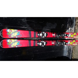 Tecno Pro Tiger Kids 90cm All Terrain Carver Skis and Binding